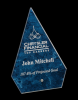 Arrow Arista Glass Award Arrowhead Awards