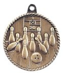 High Relief Bowling Medal Bowling Trophy Awards