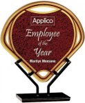 Red Infinity Fan Acrylic Employee Awards