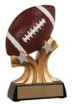 Football Shooting Star Resin Trophy Football Trophy Awards