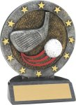 Golf - All-star Resin Trophy Golf Awards