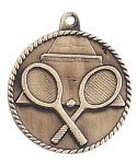 High Relief Tennis Medal High Relief Medallion Awards