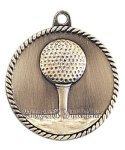 High Relief Golf Medal High Relief Medallion Awards
