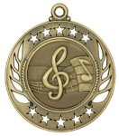 Music Galaxy Medal Music Trophy Awards