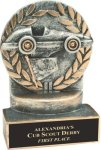Racing - Wreath Resin Trophy Racing Trophy Awards