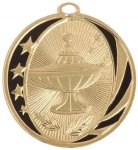 Lamp of Knowledge MidNite Star Medal Scholastic Trophy Awards