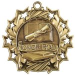 Honor Roll Ten Star Medal Scholastic Trophy Awards
