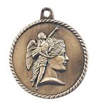 High Relief Achievement Medal Scholastic Trophy Awards