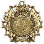 Reading Ten Star Medal Scholastic Trophy Awards