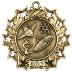 Science Ten Star Medal Scholastic Trophy Awards