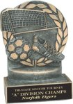 Soccer - Wreath Resin Trophy Soccer Trophy Awards
