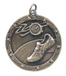 SHOOTING STAR TRACK MEDAL Soccer Trophy Awards