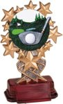 Golf - Starburst Resin Trophy Starburst Resin Trophy Awards